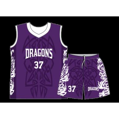 timeless design 8279a 46440 SUBLIMATED BASKETBALL JERSEY - Kobe Sportswear