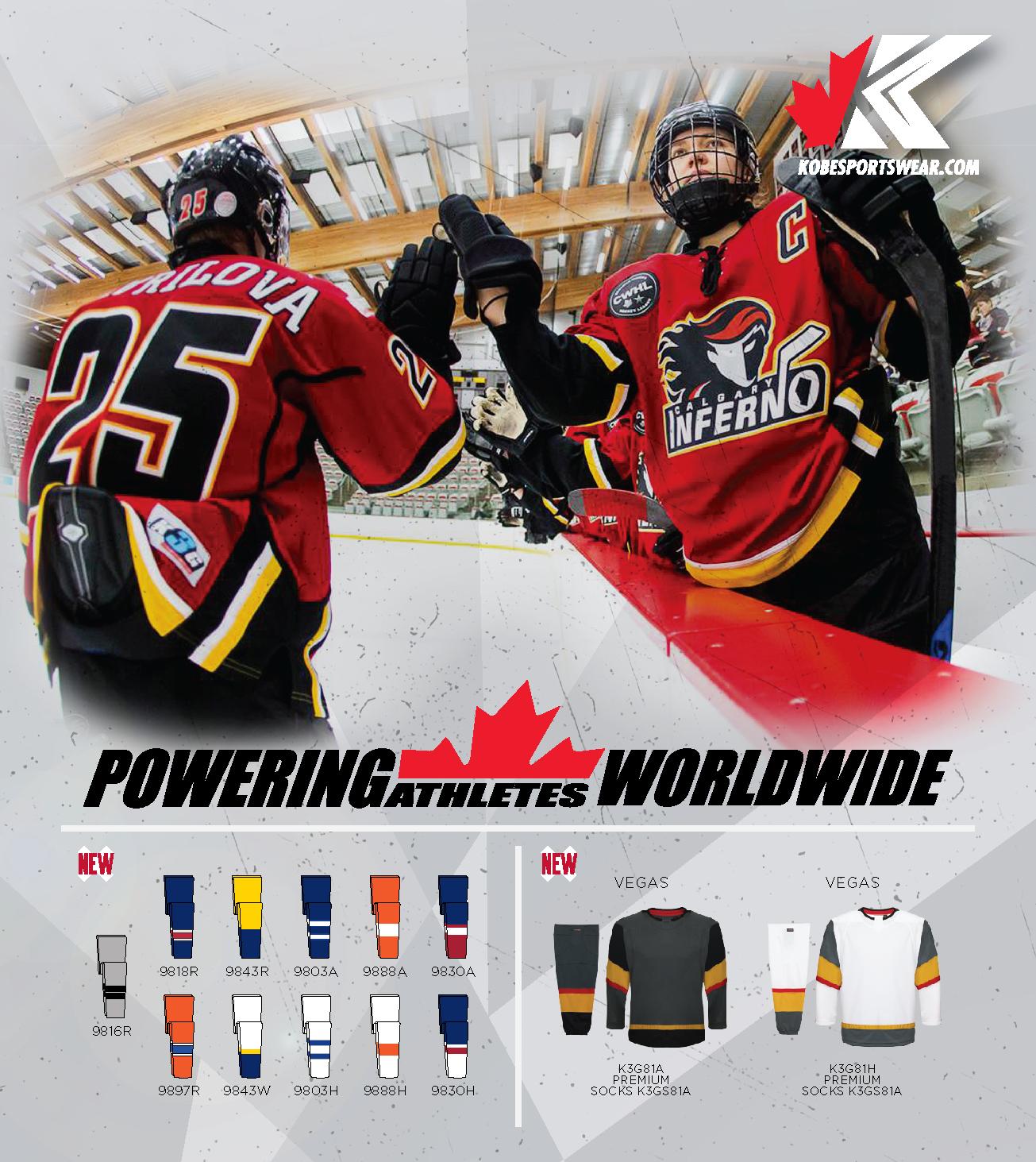 85fabc93890e 2018 19 Kobe Hockey Poster - Kobe Sportswear