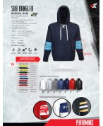 Sub Dangler: 8950HL Sublimated Panel Hoody