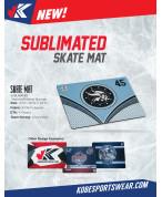 Skate Mat: Sublimated Skate Mat