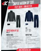Sniper Track Suit: 800J/P Track Suit